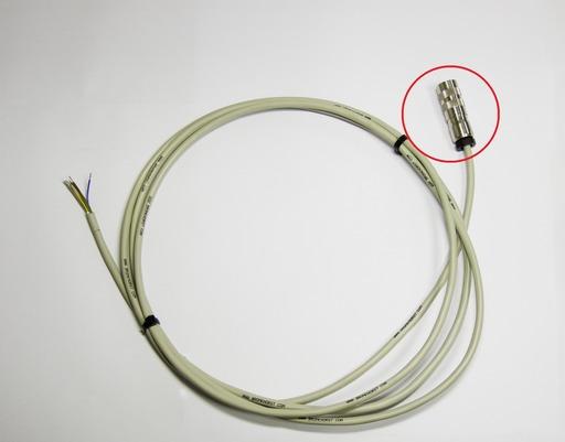 マスフロー用DIN 8ピンコネクタ