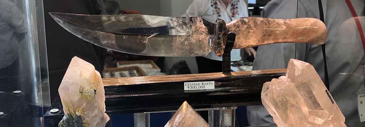 石のナイフ