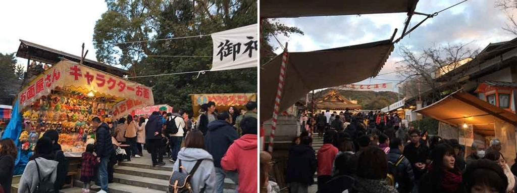 お正月の八坂神社