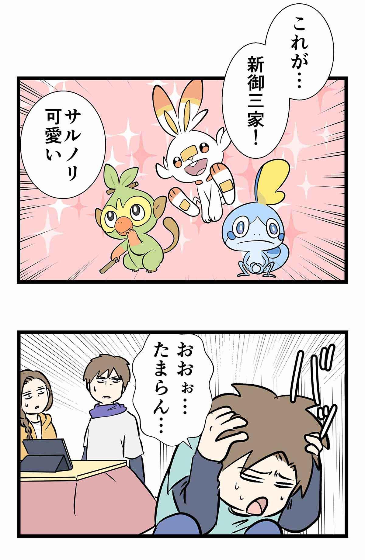 進化 ポケモン ソード 御 三家