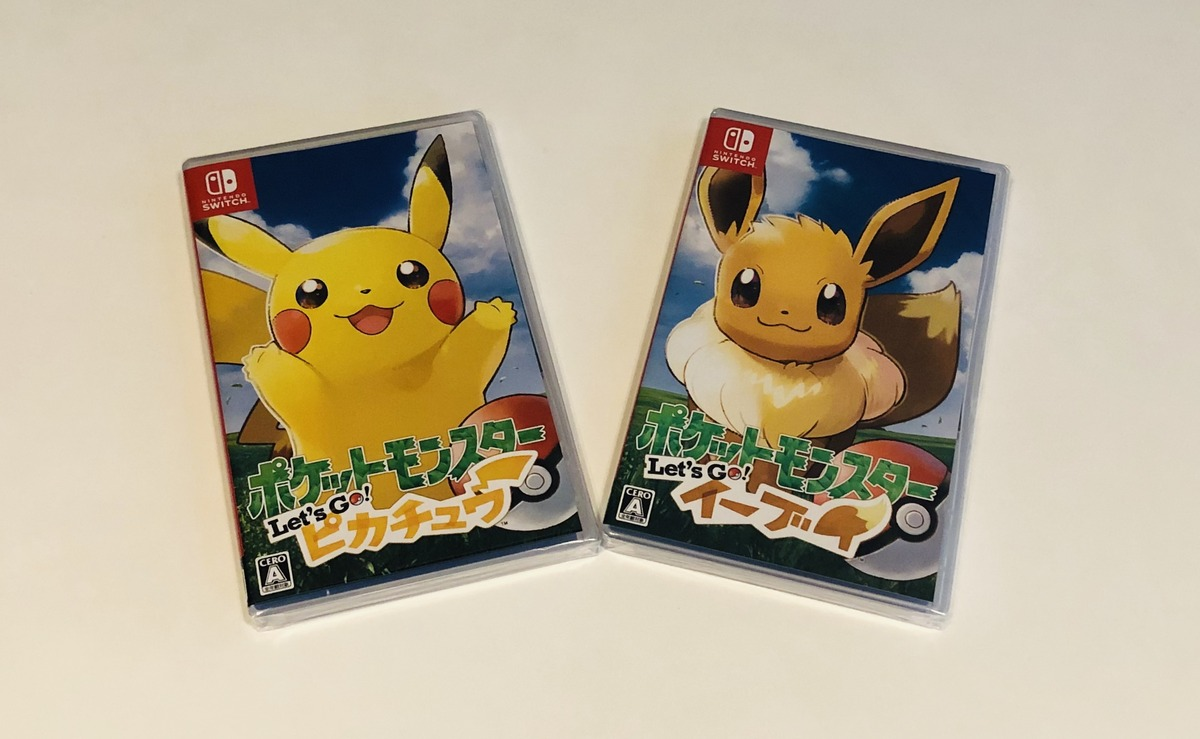 Let's Go to talk about ポケモン