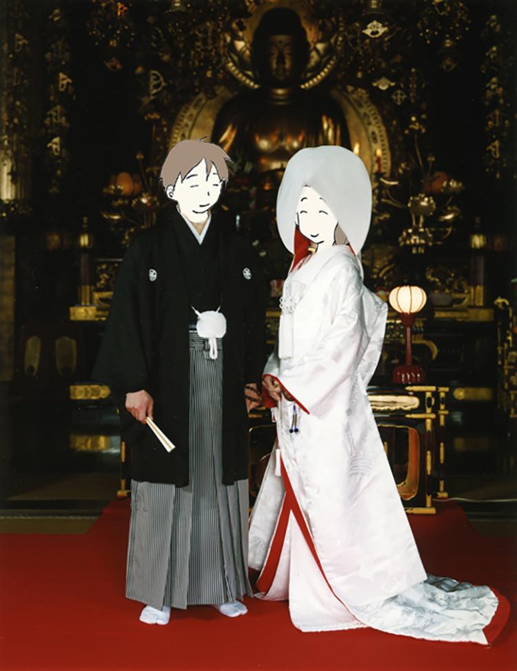 知恩院で結婚式