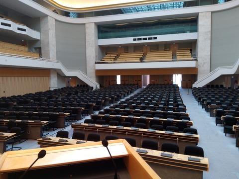 国際連合欧州本部 会議場