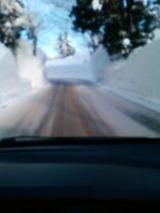 2月の道路