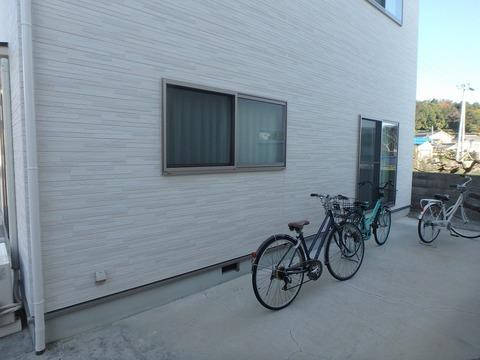 自転車置き場兼サンルーム
