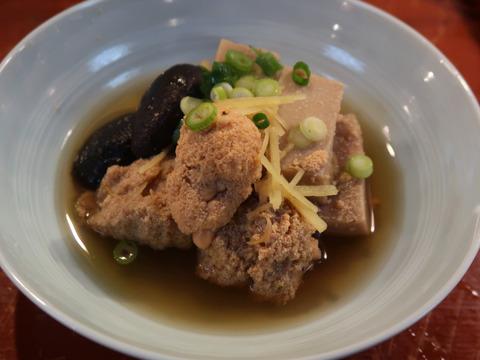 鱈の子と高野豆腐の生姜煮 11.11.9     101