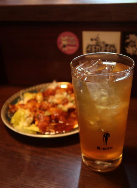 ジャスミンハイと、麻辣酢豚   18.11.23   352