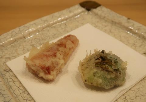 京人参と芽キャベツの天ぷら  19.2.5   140