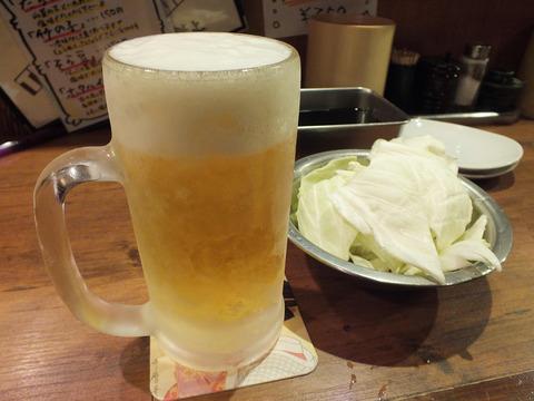 ②生ビール(テンヤワンヤ)002