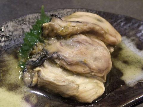「牡蠣のオリーブオイル漬」