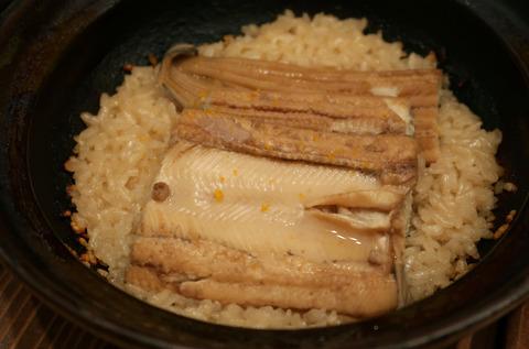 穴子土鍋ご飯(全体)   19.3.4   147