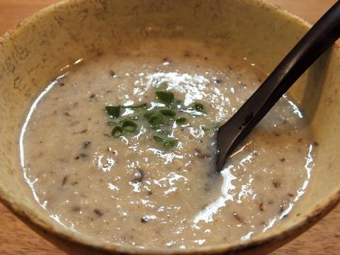「きのこのスープ」