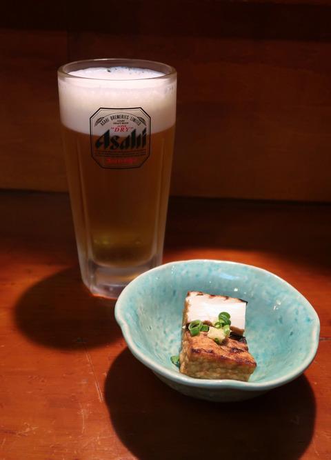 ビールとお通し  19.1.11  181