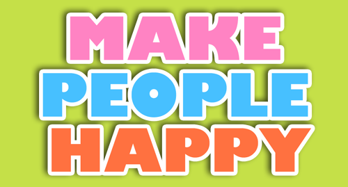 happy people essays Things that make you happy essay essay on people are just as happy as they make up their minds to be not enough to make someone happy, but wealth and influence.