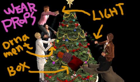Christmas tree POP07