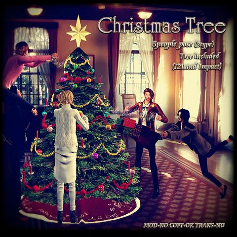 Christmas tree POP00