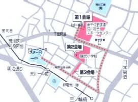 2005川の手まつり地図