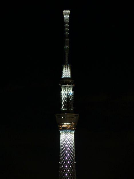東京スカイツリーライトアップ 20121223