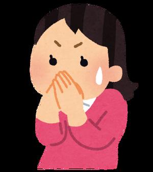 【放送事故】女の子が友達のお尻の匂い嗅いだ結果www