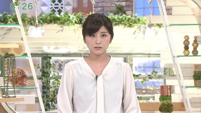 宇賀なつみアナ インナー透け衣装!