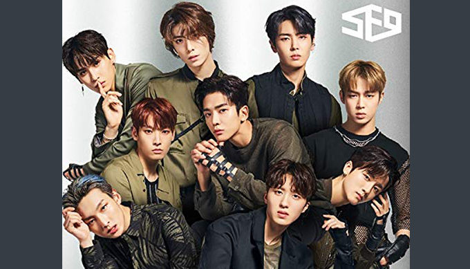 SF9のシングル『Now or Never』がランキング初登場No.1