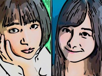 【画像】15歳頃の広瀬すずと橋本環奈、ほぼ互角説