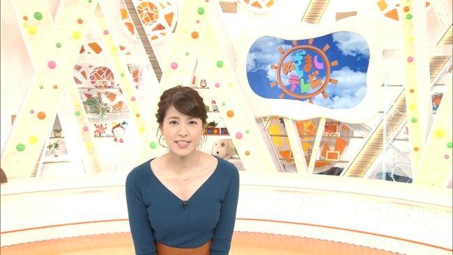 【画像】永島優美アナの今日の乳パンパンでたまらねえwww