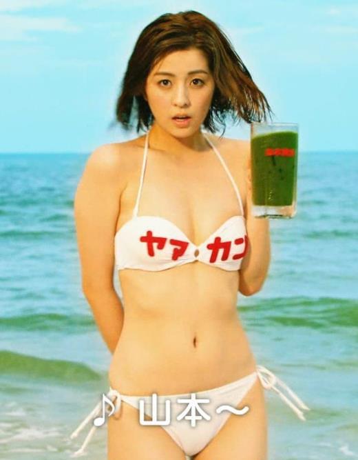 柳ゆり菜 ビキニの健康食品CMがぶっ飛んでてエロ過ぎ