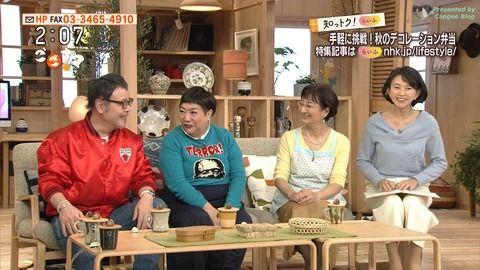 島津有理子 ごごナマ 17/11/09