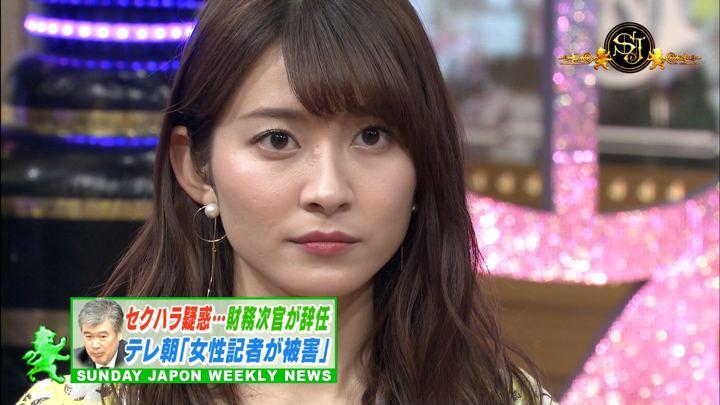 山本里菜 サンデー・ジャポン 2018年04月22日放送 25枚