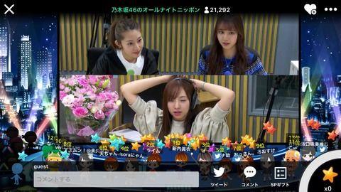 【悲惨】乃木坂ANN、SR視聴者たった3万人だったわけだが・・・