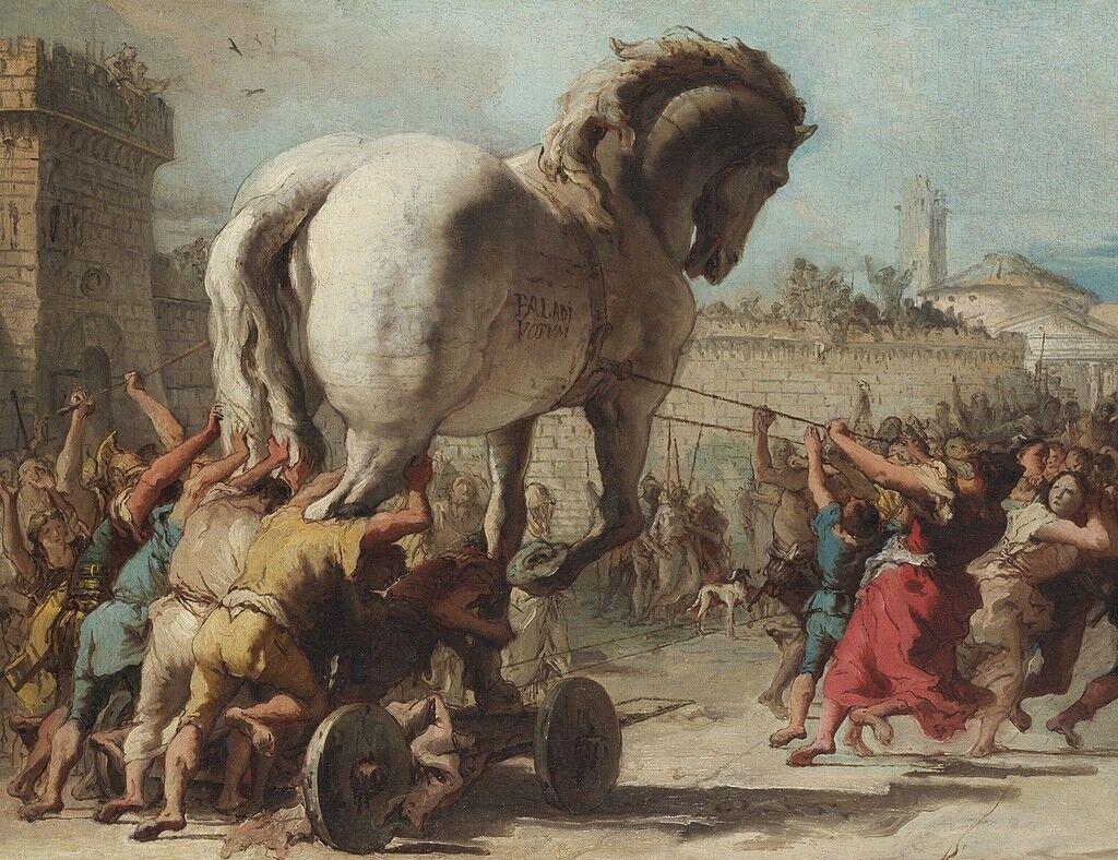 西洋絵画に見るギリシア神話『トロイア戦争』