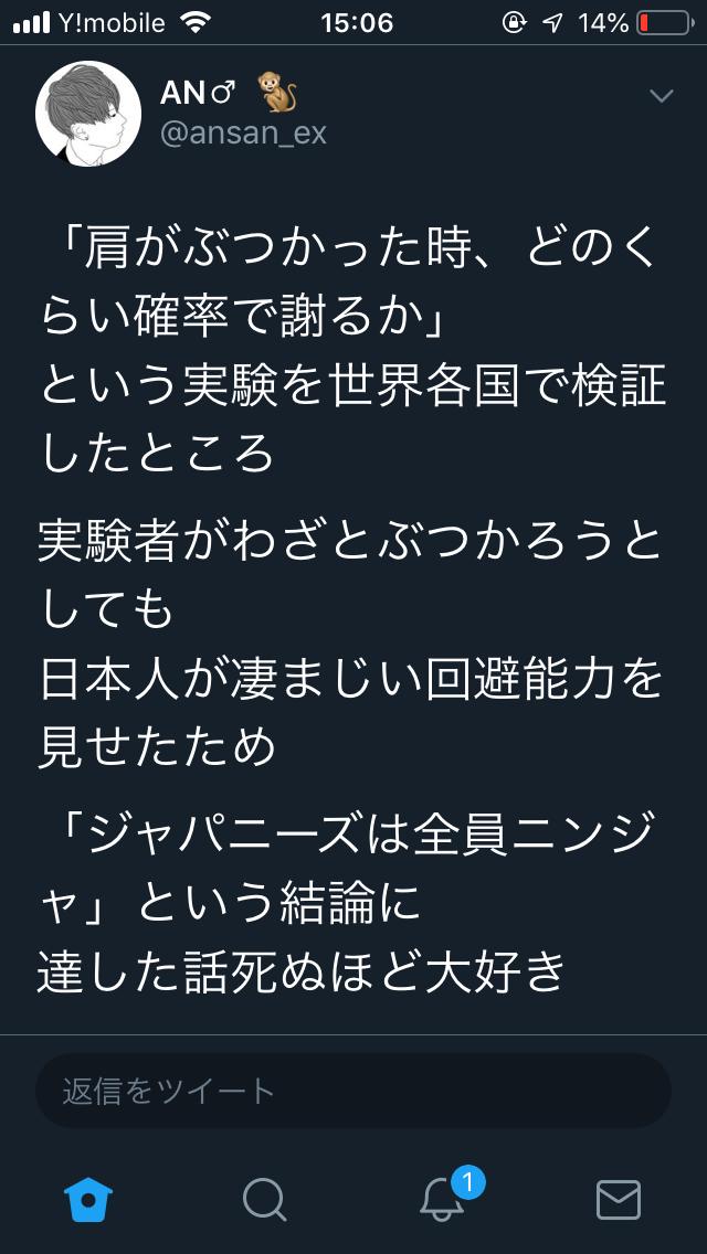 【朗報】日本人、全員が忍者だった