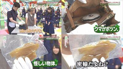 【欅坂46】渡辺梨加、「MiuMiu」のバッグからとんでもない物が出てくるwwww【欅って、書けない?#88】