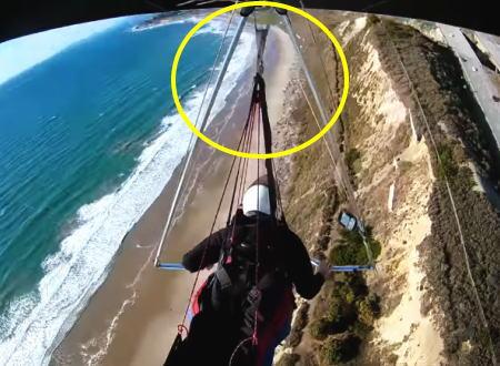 ハンググライダーの墜落事故。機体とパイロットを繋ぐ唯一のベルトが外れてしまったら。
