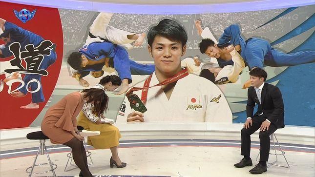 杉浦友紀アナ タイトスカートの太腿と巨乳!!