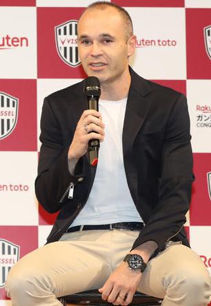 イニエスタの神戸加入決定!クラブの野望はアジア制覇