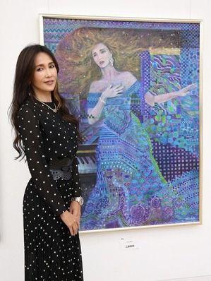 【22回連続】工藤静香、またもや二科展に入選した結果wwwww