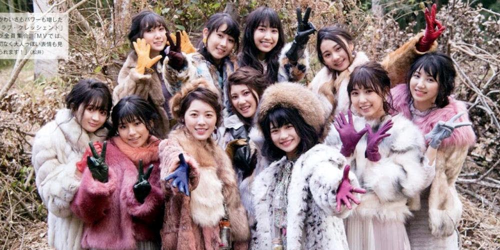 SKE48ユニット新生ラブ・クレッシェンドに密着グラビア画像!