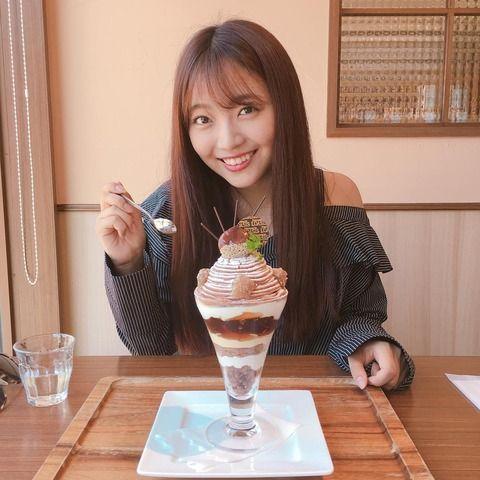 """【元SKE48】さすが二村春香!この時期に""""肩出し""""!"""