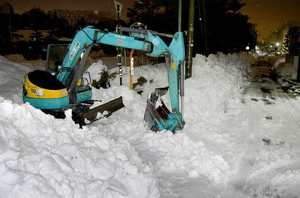 【福井豪雪】除雪作業の重機運転者が死亡…その経緯がヤバすぎた…
