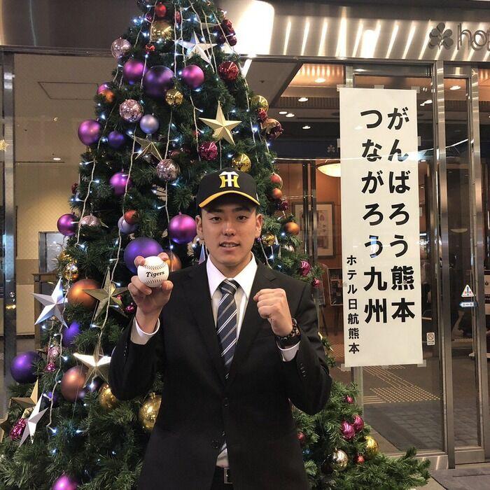 阪神6位小川が契約金3000万円、年俸700万円で仮契約「ドラフトが終わった後に実感が湧いて、プロと契約したんだなと思いました」