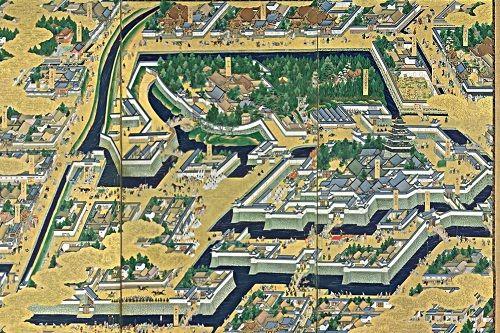 江戸城の貴重な絵図を公開…日本の歴史上で最大・最強の城は江戸城だろ