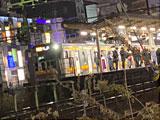 【画像】 南武線で人身事故 「死体回収のため・・」 電車遅延で騒然