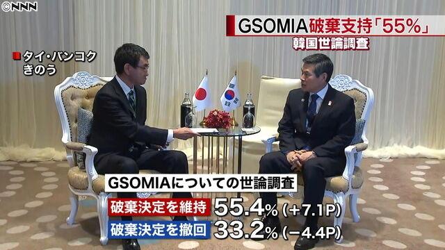 【リスカブス】韓国「GSOMIA終了のすべての原因と責任は日本」いつもの病気を発症…失効まであと10時間を切る