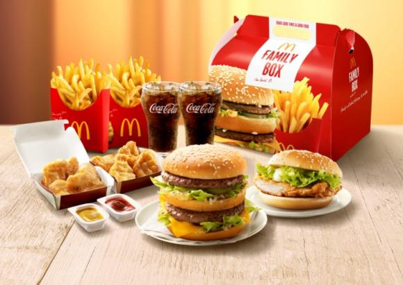 マクドナルドの新商品、ボックスが完全にB'zなんだがwwww(※画像あり)