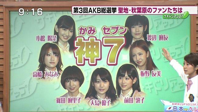 【エンタメ画像】《たしかに・・・》AKB48グループの世代交代失敗説ってよ♪♪♪♪♪♪♪