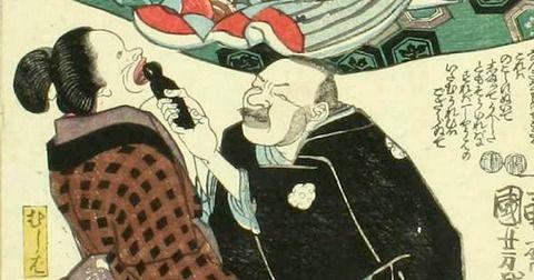 江戸時代は虫止めというムキムキのおっさんがいて、虫歯をペンチでボゴォ!と抜いてたらしい