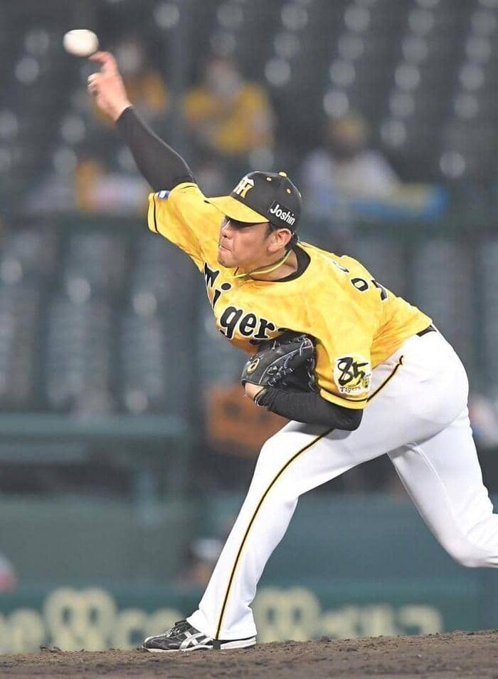 阪神・小川一平 1回1安打無失点に「ゼロで抑えることが大事だとおもうので、続けていきたいです」