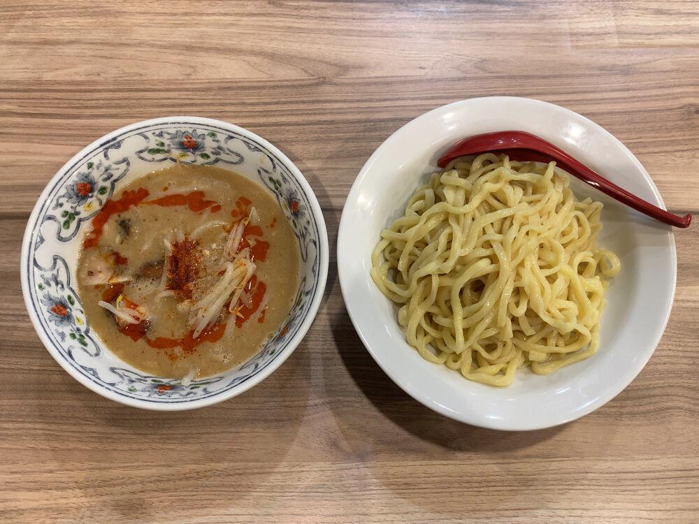 くじら食堂 nonowa東小金井店@東小金井 / ドロドロ豚骨の味噌つけ麺(限定)